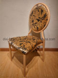 의자를 식사하는 최신 판매 쌓을수 있는 금속 모조 나무는 도매로 의자를 연회로 대접한다