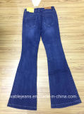 черные джинсыы джинсовой ткани 9.8oz (HYQ97-07GDT)