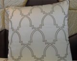 Hoofdkussen van het Fluweel van de Manier van het Kussen van het borduurwerk het Decoratieve (EDM0343)