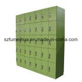 Armarios de almacenaje al por mayor de la gimnasia del verde del bloqueo de RFID para el supermercado