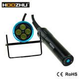 Освещение Hoozhu Hu33 4000lm СИД для нырять с водоустойчивым 120m светильником