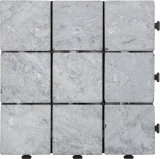 Mattonelle di pietra figura quadrata, mattonelle di pavimento per la decorazione e pavimento di DIY del giardino