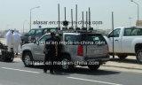 Emittente di disturbo montata su veicolo piena della bomba di Rcied di protezione del convoglio della fascia 20-6000MHz VIP