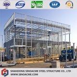 Construction structurale préfabriquée élevée/Chambre d'étage neuf du modèle deux