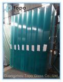 Vidrio Ultra-Claro decorativo de la construcción del flotador con el 1r grado (UC-TP)