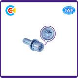 GB/DIN/JIS/ANSI 탄소 강철 또는 스테인리스 4.8/8.8/10.9 직류 전기를 통한 육각형 소켓 나사