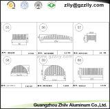 De Profielen die van het Aluminium van het Bouwmateriaal Profielen Rdiator machinaal bewerken