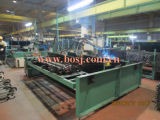 Zugkraft-Schritt-Bodenbelag-Stahlplanke-Plattform-Metallplanke-Rolle, die Produktions-Maschinen-Hersteller Malaysia bildet