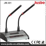JM-301 de Microfoon van de Conferentie van het dubbel-Gooseneck van de condensator