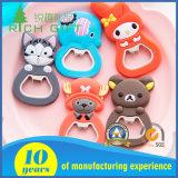 Magnete di gomma del frigorifero del PVC su ordinazione di marchio 3D e di figura per i regali di promozione