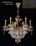 Indicatori luminosi Pendant decorativi di cristallo del lampadario a bracci della lampadina della candela per Corridoio