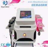 携帯用脂肪質の取り外し機械Lipolaser+ Radiofrequency+Ultrasonic+Vacuum