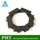 Schwarzer Epoxidmagnet des neodym-N48 mit Praseodymium-permanentem magnetischem Material
