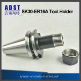 CNC機械のための製粉のツールのアクセサリSk30-Er16Aのバイトホルダー