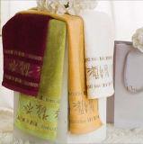 Tovagliolo di bambù di /Face /Bath del bambino della fibra del ricamo di lusso all'ingrosso