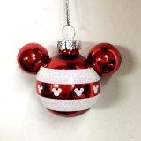도매 다채로운 유리제 크리스마스 공