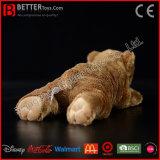 Giocattoli molli realistici realistici dell'orso di Brown della peluche dell'animale farcito per i capretti