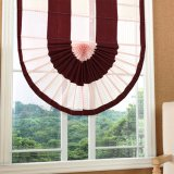 높은 Quality Dustproof Chenille Fan Roman Blind (32R0012)