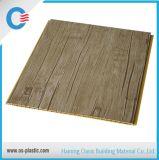 Painel laminado de madeira do PVC do preço de fábrica