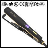 Professional Custom Logo Fast Hair Ceramic Plate Hair Straightener (V183)