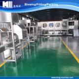 Chaîne de production complète 5 de bouteille d'eau automatique du gallon 19L