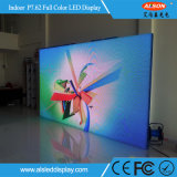 Visualización de LED fija de interior a todo color P7.62 con la FCC