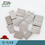 Segmentos del corte del diamante para los bloques del granito y del mármol