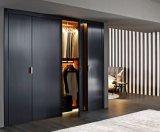 ホーム居間の家具デザイン簡単な現代木製の贅沢な寝室の壁のワードローブ
