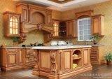 Disegno di legno degli armadi da cucina di disegno europeo dalla fabbrica cinese