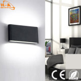 Luminoso de pared baja lámpara montada en la pared Wirh SGS