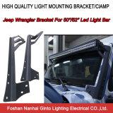 suporte superior do pára-brisa da barra clara do diodo emissor de luz 50/52inch para o Wrangler 2004-2014 do jipe