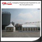25x50m Total tente de châssis en PVC transparent pour 1000 personne