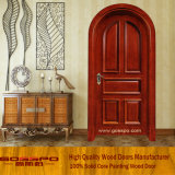 La antigüedad talló la puerta exterior arqueada del pabellón de la puerta con el travesaño (XS1-015)