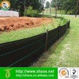 De alta qualidade 100GSM Black Polyethylene Landscape Fabric Terra Cobertura Weed Mat