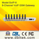 8 GSM van VoIP van Kaarten SIM Gateway, goIP-8