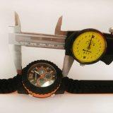 ABS umkleiden Gummiband-Japan-Bewegung Pupualr Entwurfs-Uhren
