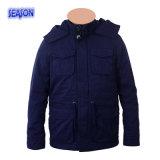 Одежды работы Workwear куртки зимы цвета сини военно-морского флота проложенные пальто