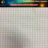 Hilado de nylon teñido de tela de verificación con sensación de mano suave para la camisa