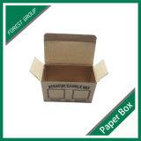 Reciclar el rectángulo de papel acanalado