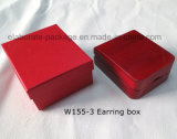 Contenitore di legno di orecchino della visualizzazione dell'imballaggio del regalo dei monili