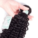 8A Unprocessed Brazilian Curly Human Extension Virgin Hair Weave