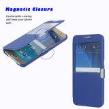 Nota 5 para Samsung Smart accesorios de cuero Flip Phone casos