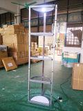 Круглая вращая складывая стойка таблицы промотирования