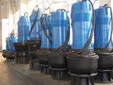 Axial sumergible de flujo mixto bomba de agua centrífuga