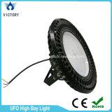Lumière industrielle élevée de la lumière 100W 150W 200W de compartiment d'UFO DEL de DEL