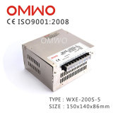 Wxe-200-5, 200W Hot Sale 5V 40A Alimentation mobile