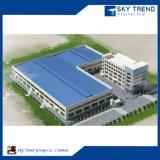 Edificios industriales almacén y oficina prefabricados del marco de acero de China
