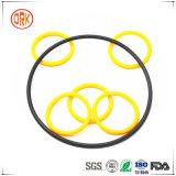 Gummidichtungen und Dichtungs-gelbe Silikon-O-Ringe