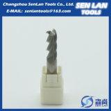 Высокая точность карбид вольфрама конечных продуктов для обработки с ЧПУ
