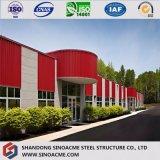 Edifício pre projetado da construção de aço do preço de projeto moderno baixo